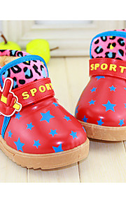 Girl's Boots Others PU Casual Brown Red
