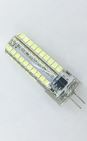 9W E14 / G9 / G4 / E12 / E17 / E11 / BA15D Ampoules Maïs LED T 80LED SMD 2835 600LM lm Blanc Chaud / Blanc Froid Décorative V 1 pièce