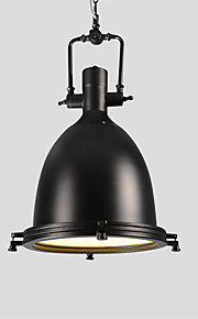 Max 60W מנורות תלויות ,  מסורתי/ קלאסי / סגנון חלוד/בקתה / רטרו / גס / וינטאג' כרום מאפיין for סגנון קטן מתכתחדר שינה / חדר אוכל / מטבח /