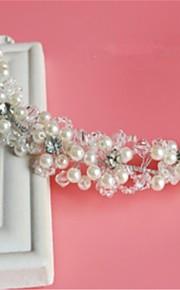 Femme Strass / Cristal / Imitation de perle / Filet Casque-Mariage / Occasion spéciale Serre-tête 1 Pièce