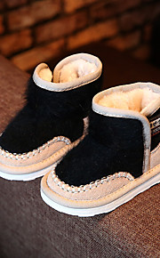 Girl's Boots Others Leather Casual Black Pink Gray