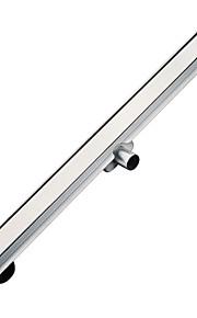 Avløp / Børstet / Frittstående /75mm /Rustfritt stål /Moderne /638mm 108mm 1.81