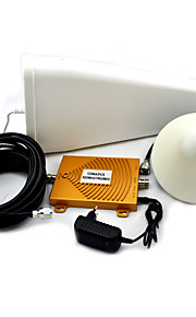 Mini CDMA 850MHz PCS 1900MHz Mobile Phone Signal Booster Dual Band Signal Repeater with Ceiling / Log Periodic Antenna