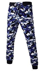 Pantalon Aux femmes Chino simple Coton Elastique