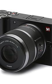 Xiaomi yi m1 mirrorless digitalkamera med 42,5 mm f1.8 linse / 20mp / 4k / 30 fps (kinesisk udgave)