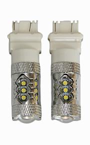 7443 80w geleid auto geleid remlicht T20 80w geleid omgekeerde lamp t20 80w Cree LED backup lamp
