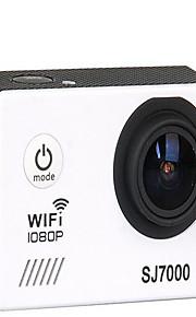 sj7000 Actiecamera / Sportcamera 16MP 4000 x 3000 WIFI / Waterbestendig / Verstelbaar / Draadloos 30fps 4X ± 2EV 2 CMOS 32 GB H.264Enkele
