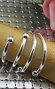 1 Stück Eisen rechteckigen Serviettenring