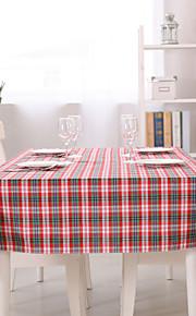 1 100% Algodón Cuadrado Forros de Mesa / Corredor de Tabla / ServilletaHotel Dining Tabla / Decoración del banquete de boda / Cena