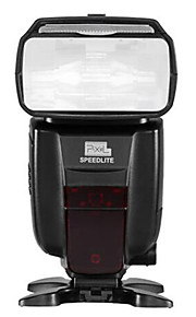 PIXEL® X800C with  high-speed synchronous 1/8000s and TTLS1S2 led flash for 6D/70D/60D/5D2/5D3 for Canon camera