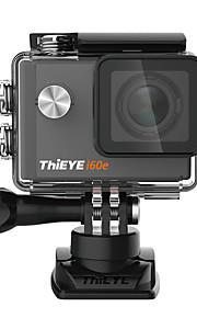 thieye i60e 4k actie camera waterdicht wifi 12mp1080p 60 fps 2,0 ultra hd sport-videocamera 170 ° groothoeklens 2 batterijen