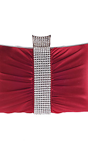 L.WEST Women's Sweet Silken Diamonds Fold Evening Bag