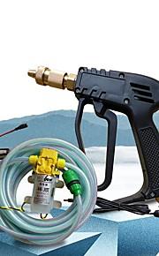 lavado de coches / hogar bomba de agua 12v tubo pulverizador 10m Xiangshun alta presion equipos portátiles cleanning