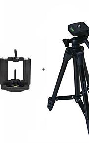 ismartdigi i3120-bk mobiele stand 4-sectie camera statief voor alle d.camera v.camera mobilesamsung iphone htc sony lg nokia ... black