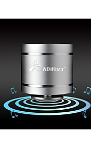adin d3 super geluid mini 5W hifi trillingen luidspreker 3,5 mm audio-in / out fm vibrerende spreker 360 hifi arround sound speaker