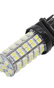 4x hvid 68smd 3528 førte T25 1157 bay15d bremse stopsignal lys lampe pærer ny