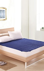 bedtoppings colchão da cama de fibra de coco / pad rosto fleece coral&microfibra de poliéster volta rainha costura tamanho quilt com