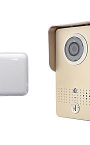 høj sikkerhed produkt realtid fjernbetjening smarte wifi video dørtelefon wifi klokke trådløse doorphone
