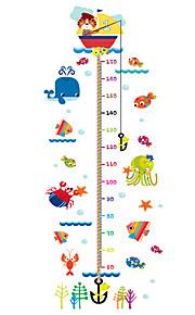 Tiere Botanisch Cartoon Design Wand-Sticker Flugzeug-Wand Sticker Dekorative Wand Sticker Sticker zum Maßnehmen,Vinyl StoffHaus