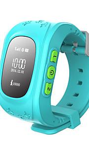 GPS LBS Double Location Safe Activity Tracker Children Wristwatch  Kids Smart Watch