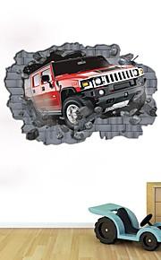 Moda Astratto Adesivi murali Adesivi 3D da parete Adesivi decorativi da parete,Carta Materiale Decorazioni per la casa Sticker murale