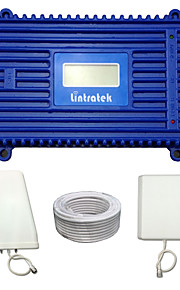 Lintratek 4G LTE Repeater LCD FDD 4G 2600MHz Signal Booster 70dBi Gain Mobile Phone Signal Amplifier Full kit  For SFR/Bell/Orange/Vodafone/EE