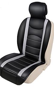 autoyouth autostol dække 1stk 3 farvet pu læder 3d luft mesh fire årstider åndbare bil pude bil tilbehør bil-covers