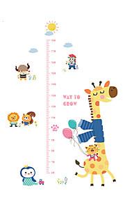 Animali Moda Forma Adesivi murali Adesivi aereo da parete Adesivi decorativi da parete Adesivi misura altezza,Vinile MaterialeDecorazioni