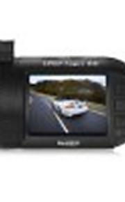 mini 0805p 1,5 tommer 1296p bil dvr kamera med gps modul - sort hdr teknologi / loop optagelse / bevægelsesdetektor / one-key lock /