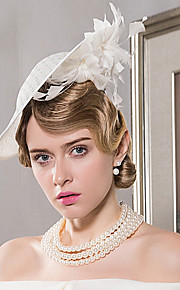 Feather Flax Headpiece-Wedding Special Occasion Casual Fascinators Hats 1 Piece