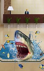 Animales Pegatinas de pared Calcomanías 3D para Pared Calcomanías Decorativas de Pared,Vinilo Material Decoración hogareñaVinilos