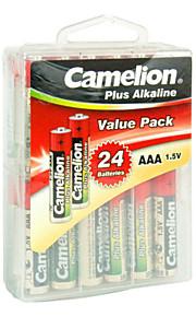 Camelion LR03-pbh24 pila alcalina AAA 1.5v 24 paquete