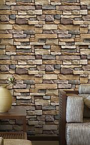 геометрический 3D Обои Для дома Современный Облицовка стен , ПВХ/винил материал Самоклейки обои , Обои для дома