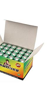 5 alkaline batterij lr6 aa 24 tabletten geladen kinderspeelgoed controle muis klok toetsenbord batterij van de afstandsbediening