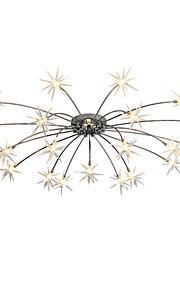 3 Lustre ,  Contemporain Chrome Fonctionnalité for Style mini Designers MétalSalle de séjour Chambre à coucher Salle à manger