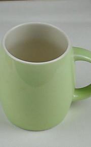 미니멀리즘 드링크웨어, 400 ml 간단한 기하학적 패턴 세라믹 맥주 우유 일상용 컵