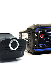 (Met Russische voice) 3 in 1 auto DVR radardetector gps informator 720p hd auto camera recorder strelka laserdetector gps logger