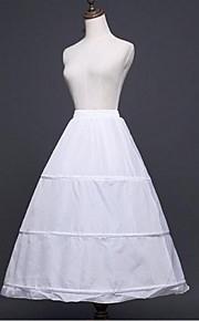 תחתונית  A- קו תחתוניות סליפ שמלת נשף אורךTea 1 פוליאסטר לבן שחור
