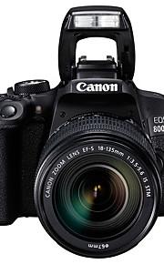 Canon® eos 800d fotocamera digitale ef-s 18-135mm f / 3.5-5.6 è stm slr