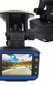 2 in 1 radar detector auto DVR 720 dash cam g-sensor autocamera video recorder registrator anti-radardetector tachograaf