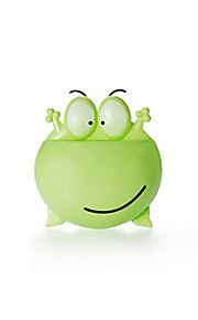 Cartoon Frog Suction Type Toothbrush Holder-Random color