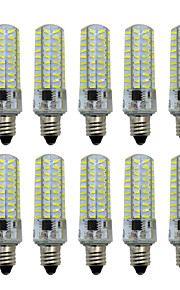 5W E14 E12 E17 E11 BA15D LED à Double Broches T 80 SMD 4014 400-500 lm Blanc Chaud Blanc Froid Gradable AC 100-240 V 10 pièces