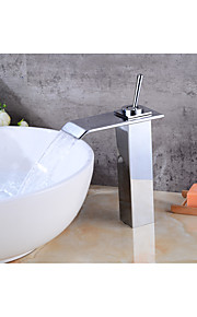 Centersat Foss Et Hull for  galvanisert , Baderom Sink Tappekran
