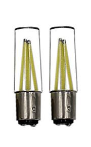 2pcs ®shenmeile 3w ahorro de energía estupendo 350lm ultra brillante 1157 bay15d p21 / 5w llevó la lámpara auto del coche de la luz del