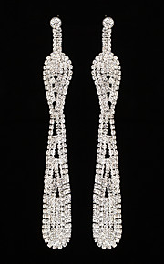 Women's Drop Earrings Rhinestone AAA Cubic Zirconia Vintage Classic Elegant   Jewelry For Wedding Anniversary Party