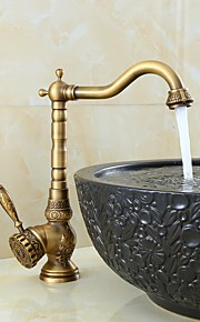 Moderne Keramisches Ventil Ein Loch for  Bronze , Waschbecken Wasserhahn