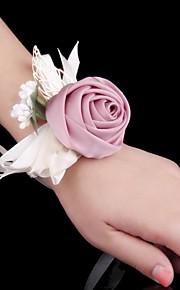 Bouquet sposa Braccialetto floreale Matrimonio Occasione speciale Metallo 6 cm ca.