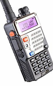 5w 128ch tweerichtings radio walkie talkie baofeng uv-5re voor jacht dual display FM Vox UHF VHF radiostation cb radio