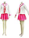 らき☆すた日本語学校制服コスプレ衣装赤