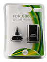 Rechargeable USB Battery Charge Pack for Xbox 360 Slim (Black)